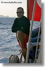 boats, captain, cevri hasan, europe, gulet, men, people, schooner, turkeys, vertical, photograph