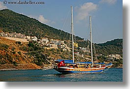 boats, cevri hasan, europe, gulet, horizontal, schooner, sunny, turkeys, photograph