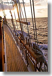 boats, cevri hasan, dawn, deck, europe, ocean, sunsets, turkeys, vertical, photograph