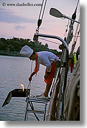 barbeque, boats, cevri hasan, cooks, europe, gulet, schooner, seyhmus, shamus, turkeys, vertical, photograph