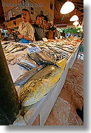 europe, fethiye, fish, market, turkeys, vertical, photograph