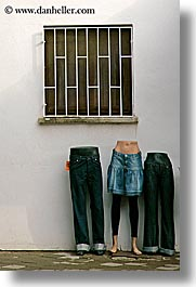 europe, fethiye, humor, manequins, mannequins, turkeys, vertical, windows, photograph