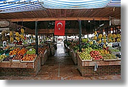 europe, fethiye, horizontal, market, turkeys, photograph