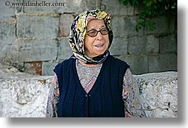 europe, fethiye, horizontal, old, turkeys, turkish, womens, photograph