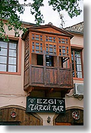 balconies, europe, fethiye, turkeys, turkish, vertical, photograph
