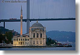 buyukmecidiye, dusk, europe, horizontal, istanbul, mosques, rivers, turkeys, photograph
