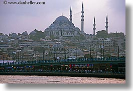 cami, europe, horizontal, istanbul, mosques, rivers, suleymaniye, turkeys, photograph
