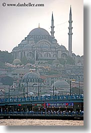 cami, europe, istanbul, mosques, rivers, suleymaniye, turkeys, vertical, photograph