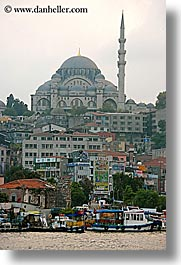 europe, istanbul, mosques, rivers, turkeys, vertical, yenicami, photograph
