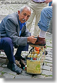 europe, istanbul, men, people, shiners, shoes, turkeys, vertical, photograph