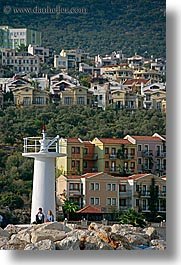 couples, europe, kalkan, lighthouses, turkeys, vertical, photograph
