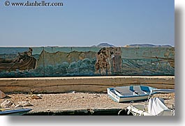 arts, boats, europe, horizontal, kas, murals, paintings, turkeys, photograph