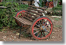 colorful, europe, horizontal, kaya koy, turkeys, wagons, wheels, photograph
