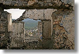 architectural ruins, europe, horizontal, kaya, kaya koy, koy, overview, turkeys, photograph