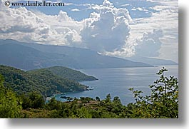 clouds, coastline, europe, horizontal, kaya koy, scenics, turkeys, photograph