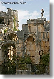 architectural ruins, europe, myra, old myra, photographers, stones, turkeys, vertical, photograph