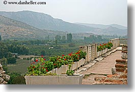 europe, gardens, horizontal, st johns basillica, terrace, turkeys, photograph