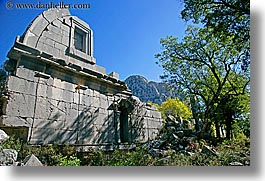 architectural ruins, europe, horizontal, termessos, turkeys, photograph
