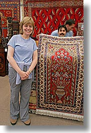 europe, marybeth, rugs, turkeys, turkmen rugs, vertical, womens, photograph