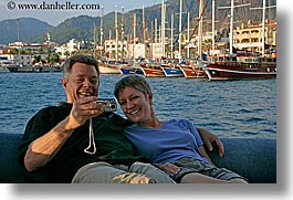 boats, cameras, couples, drew, europe, happy, horizontal, laugh, men, ocean, rose drew garland, roses, tourists, turkeys, womens, photograph