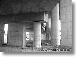 fujipix, black and white, pillars, horizontal, fujipix, pillars, photograph