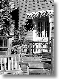 fujipix, black and white, porch, horizontal, black and white, fujipix, porch, photograph