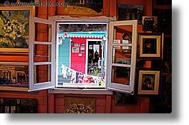 argentina, buenos aires, horizontal, la boca, latin america, painters, studio, windows, photograph