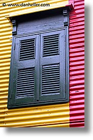 argentina, buenos aires, la boca, latin america, vertical, windows, photograph