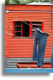 argentina, buenos aires, hangings, la boca, latin america, laundry, painted town, vertical, photograph