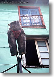 argentina, buenos aires, hips, la boca, latin america, painted town, statues, vertical, photograph