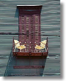 argentina, balconies, blacony, buenos aires, la boca, latin america, painted town, tiny, vertical, photograph