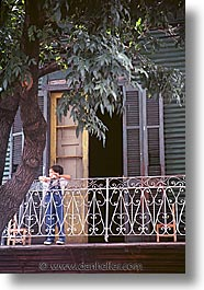 argentina, balconies, buenos aires, childrens, kid, la boca, latin america, people, vertical, photograph