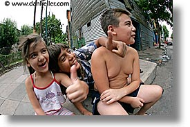 argentina, boca, buenos aires, childrens, fisheye lens, horizontal, kid, la boca, latin america, people, photograph
