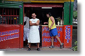 argentina, buenos aires, cafes, horizontal, la boca, latin america, owners, people, photograph