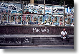 argentina, buenos aires, horizontal, la boca, latin america, men, people, posters, photograph