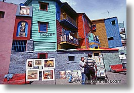 argentina, artists, buenos aires, horizontal, la boca, latin america, people, streets, photograph