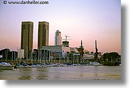 argentina, buenos aires, buildings, horizontal, latin america, madero, puerto, puerto madero, photograph