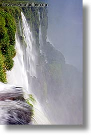 argentina, close, falls, iguazu, latin america, vertical, water, waterfalls, photograph