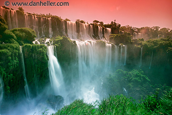 iguazu falls sunset - photo #23