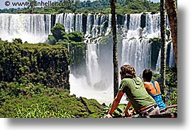 argentina, horizontal, iguazu, latin america, people, photograph