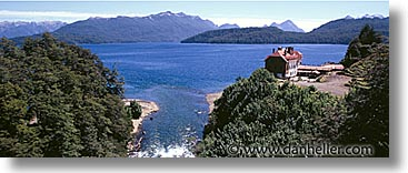 chile, horizontal, lakes, latin america, outlet, panoramic, photograph