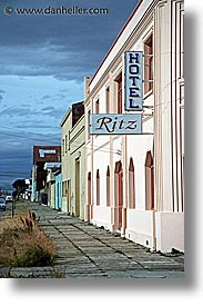 chile, hotels, latin america, punta arenas, ritz, vertical, photograph
