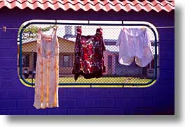 costa rica, hangings, horizontal, latin america, laundry, photograph