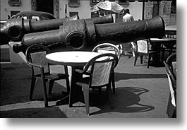 artsie, black and white, canon, caribbean, cuba, havana, horizontal, island nation, islands, latin america, south america, tables, photograph
