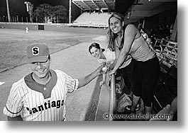 baseball, caribbean, cuba, girls, havana, horizontal, island nation, islands, latin america, santiago, south america, photograph
