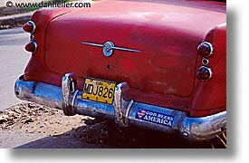 bumper, caribbean, cars, cuba, havana, horizontal, island nation, islands, latin america, south america, stickers, photograph