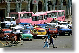 bus, camels, caribbean, cars, cuba, havana, horizontal, island nation, islands, latin america, south america, photograph