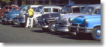 caribbean, cars, cuba, havana, horizontal, island nation, islands, latin america, panoramic, south america, photograph