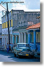 caribbean, cars, cuba, green, havana, island nation, islands, latin america, south america, vertical, photograph
