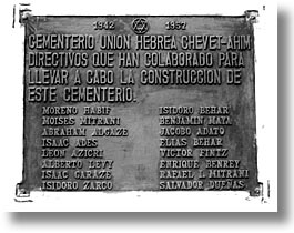 caribbean, cemeteries, cuba, havana, horizontal, island nation, islands, latin america, plaques, south america, photograph
